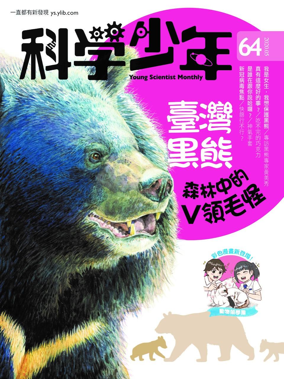 台灣黑熊——森林中的V領毛怪